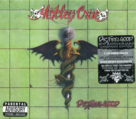Motley Crue: Dr. Feelgood (1989) (2009, Motley Records, ESM/MR 345, 20th Anniversary, USA)