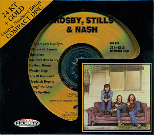 CROSBY, STILLS & NASH «Crosby, Stills & Nash» (1969) (US 2011 Audio Fidelity • AFZ 131)