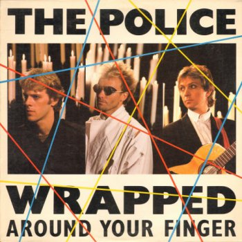 The Police-Wrapped Around Your Finger 12'' Vinyl (1983)
