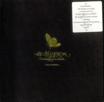 The Mission- Butterfly On A Wheel  Single  Vinyl 10'' (1989)