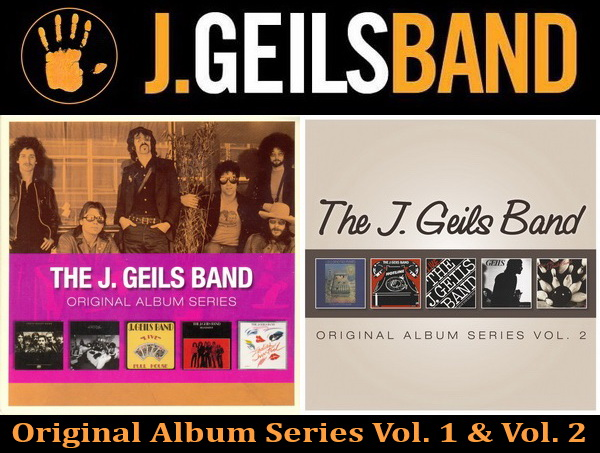 The J. Geils Band: Original Album Series Vol. 1 & Vol. 2 � 2 X 5CD Box Set Rhino Records