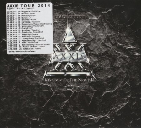 Axxis - Kingdom Of The Night II [Black Edition] (2014)