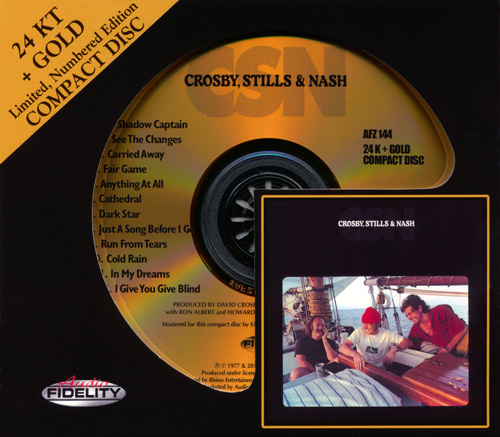 CROSBY, STILLS & NASH «CSN» (1977) (US 2013 Audio Fidelity • AFZ 144)