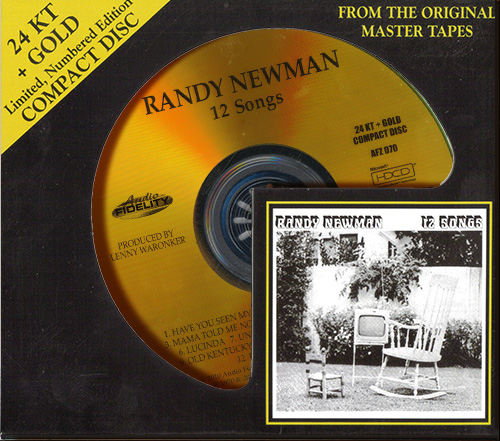 RANDY NEWMAN «12 Songs» (1970) (US 2010 Audio Fidelity • AFZ 070)