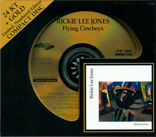 RICKIE LEE JONES «Flying Cowboys» (1989) (US 2010 Audio Fidelity • AFZ 064)