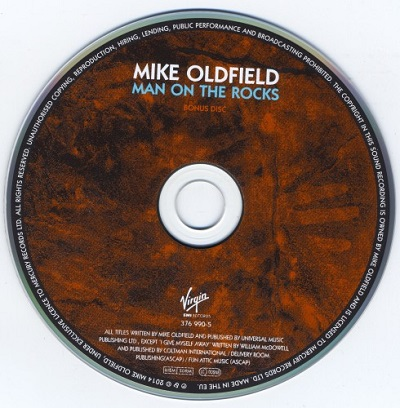 Mike Oldfield - Man On The Rocks [Limited Super Deluxe Edition, 3CD] (2014)