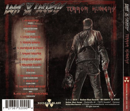 Lost Society - Tеrror Hungry [Limited Edition] (2014)