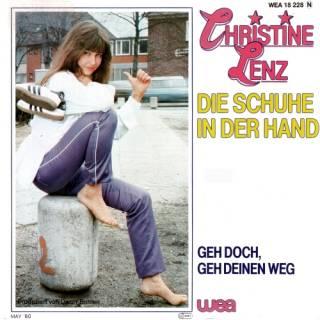 Christine Lenz - Die Schuhe In Der Hand (Vinyl, 7'') 1980