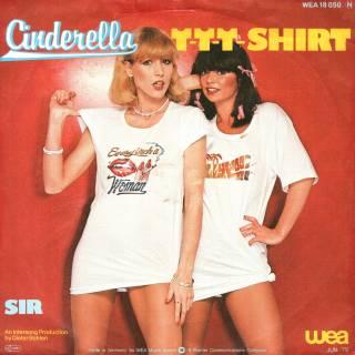 Cinderella - T-T-T Shirt (Vinyl, 7'') 1979