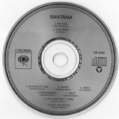 Santana - Santana (I)