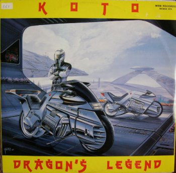 Koto - Dragon's Legend (Vinyl, 12'') 1988