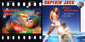Captain Jack - 2 Albums Holland & Germany Release (1997,2003 Akropolis Music & Film GMBH)