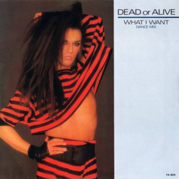 Dead Or Alive - What I Want (Vinyl, 12'') 1984