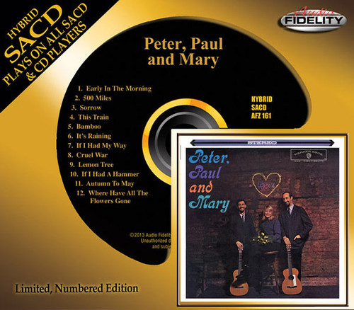 Peter, Paul And Mary - Peter, Paul And Mary - 1962 (2014, Audio Fidelity SACD)