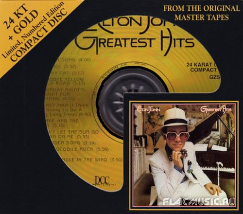 Elton John - Greatest Hits - 1974 (1994, DCC 24 Karat Gold Disc)