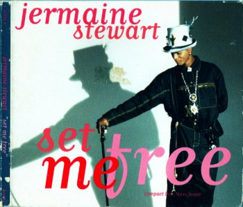Jermaine Stewart - Set Me Free (CD, Maxi-Single) 1992