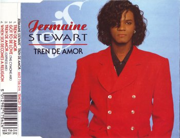 Jermaine Stewart - Tren De Amor (CD, Maxi-Single) 1989