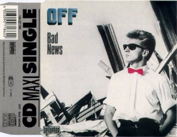 Off - Bad News (CD, Maxi-Single) 1988