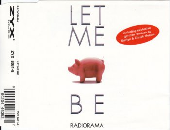 Radiorama - Let Me Be (CD, Maxi-Single) 1995