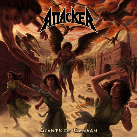 Attacker - Giants Of Canaan (2013)