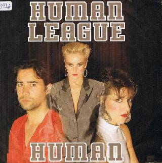 The Human League - Human (Vinyl, 7'') 1986