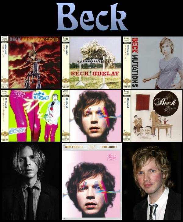 Beck: Albums Collection - SHM-CD Universal Music Japan 2012 / Blu-ray Audio Geffen Records 2013