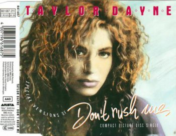 Taylor Dayne - Don't Rush Me (CD, Maxi-Single) 1988