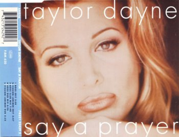 Taylor Dayne - Say A Prayer (CD, Maxi-Single) 1995