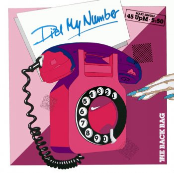The Back Bag - Dial My Number (Vinyl, 12'') 1985