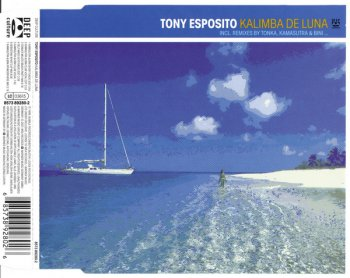 Tony Esposito - Kalimba De Luna (CD, Maxi-Single) 1999