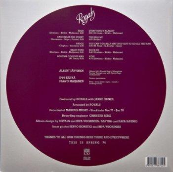 Royals - Spring 76 (1976) [Vinyl Rip 24/96]