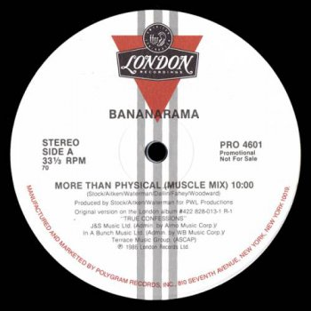 Bananarama - More Than Physical (Vinyl, 12'') 1986