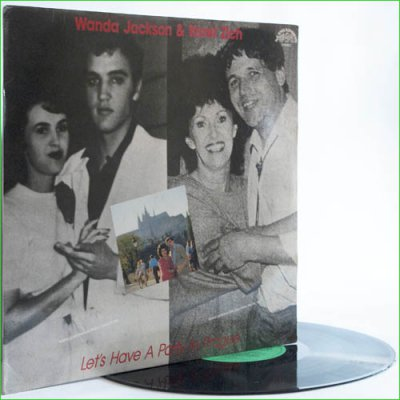 Wanda Jackson and Karel Zich - Let's Have A Party In Prague (1987) (Vinyl)