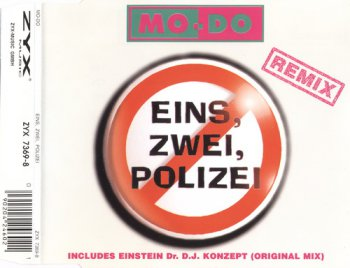 Mo-Do - Eins, Zwei, Polizei (Remix) (CD, Maxi-Single) 1994