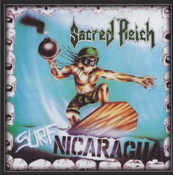 Sacred Reich - Surf Nicaragua (1988-Re-issue-2007/2Cds)
