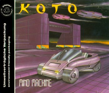 Koto - Mind Machine (CD, Maxi-Single) 1992