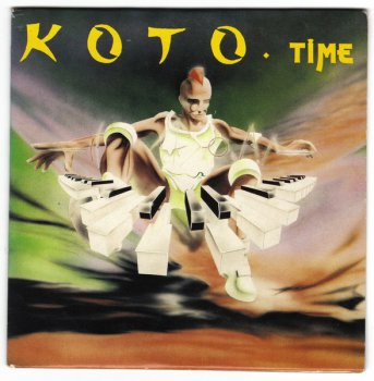 Koto - Time (CD, Maxi-Single) 1989