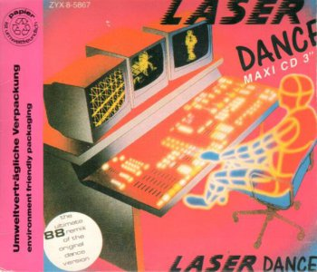 Laserdance - Laserdance Remix '88 (CD, Mini, Maxi-Single) 1988