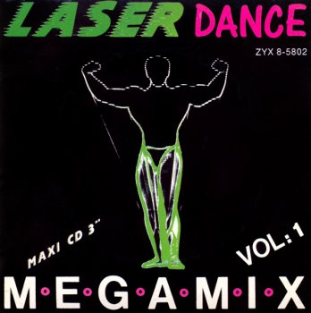 Laserdance - Megamix Vol. 1 (CD, Mini) 1988