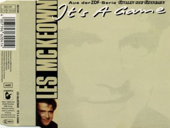Les McKeown - It's A Game (CD, Maxi-Single) 1989