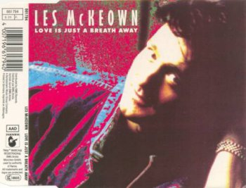 Les McKeown - Love Is Just A Breath Away (CD, Maxi-Single) 1988