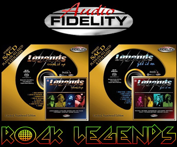 Legends: Crank It Up ● Get It On / Hybrid SACD Audio Fidelity 2014