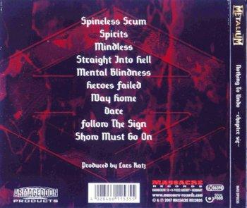 Metalium - Nothing To Undo: Chapter Six (2007)