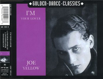 Joe Yellow - I'm Your Lover (CD, Maxi-Single) 2001