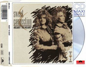 Sweet Connection - Heart To Heart (CD, Maxi-Single) 1989