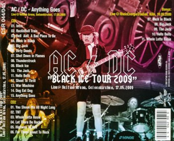AC-DC - Anything Goes (2CD Bootleg 2009)