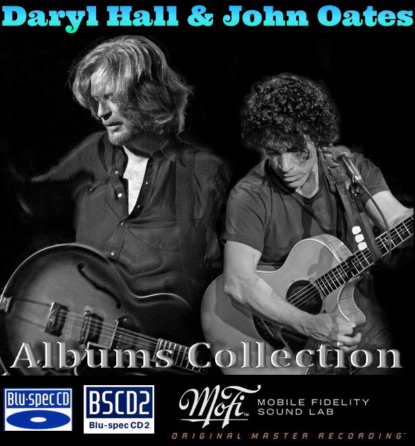 Daryl Hall & John Oates: Albums Collection - 14 Albums Mini LP Blu-spec CD + 2 Albums Blu-spec CD2 + 3 Albums MFSL