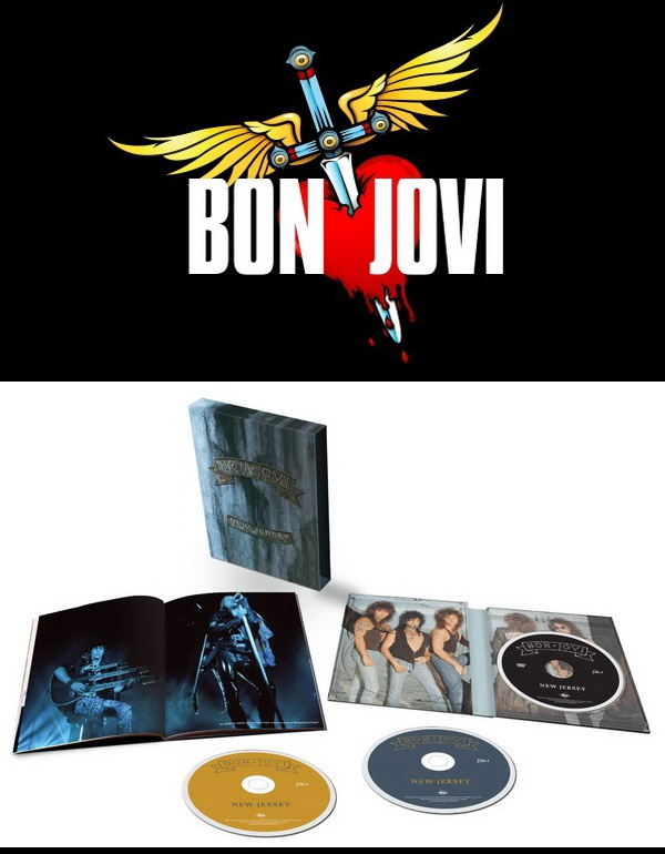 Bon Jovi: 1988 New Jersey - 2 SHM-CD + DVD Super Deluxe Box Set 2014