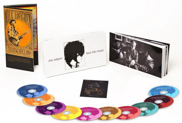 Nils Lofgren: Albums Collection - 7 Albums Mini LP SHM-CD + 9CD/DVD Deluxe Edition Box Set 2014