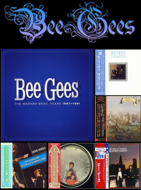 Bee Gees: Albums Collection - Mini LP CD Warner Music Japan 2014 / 5CD Box Set Warner Music 2014